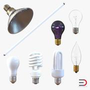 灯泡3D模型集合3 3d model