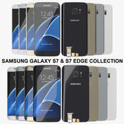 Samsung Galaxy S7 & S7 Edge Collection 3d model