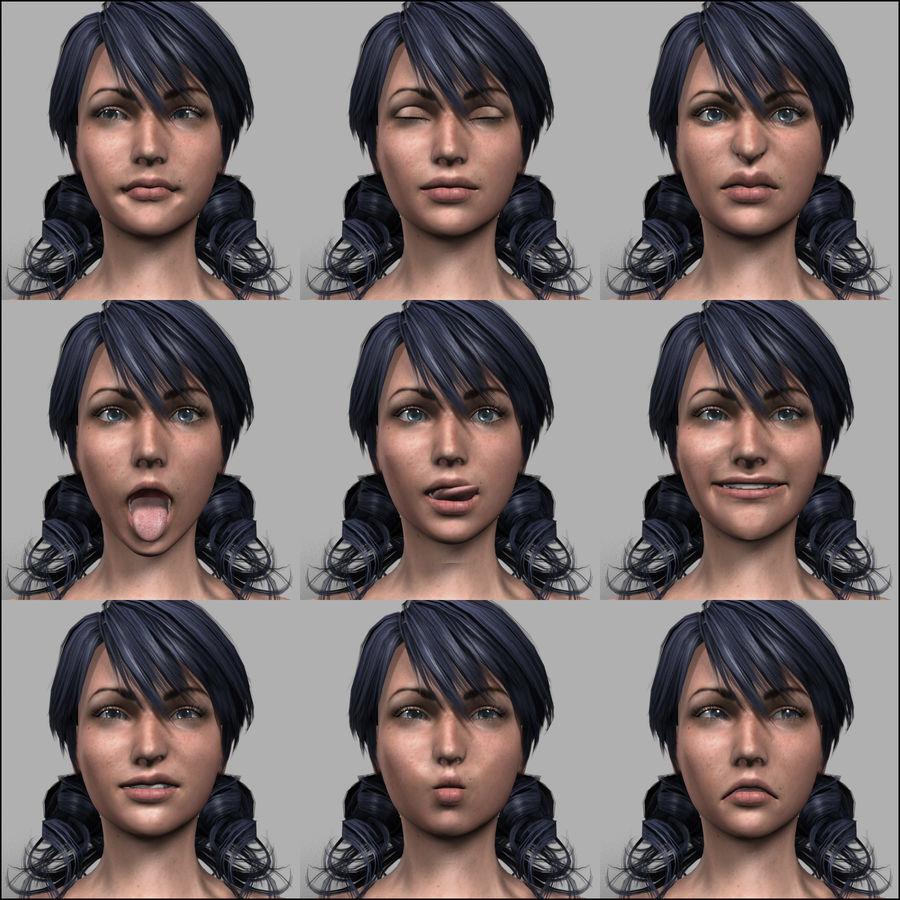 Female Base Body royalty-free 3d model - Preview no. 29