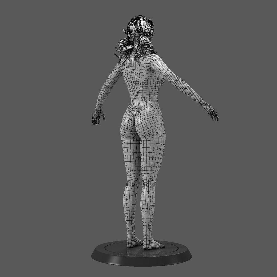 Female Base Body royalty-free 3d model - Preview no. 6