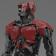 Polis Bot 3d model