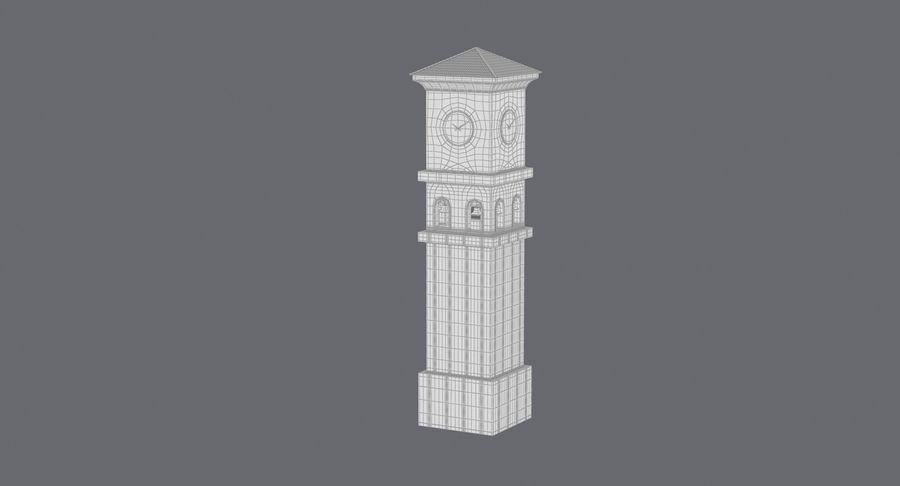 Wieża zegarowa royalty-free 3d model - Preview no. 20