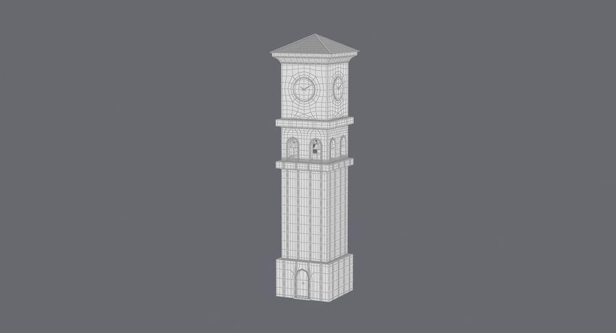 Wieża zegarowa royalty-free 3d model - Preview no. 19