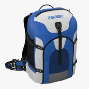 Fishing Backpack 3D 모델 3d model