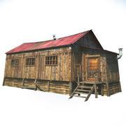 Амбар Дом 3d model