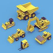 Zwaar Machinepakket 3d model