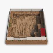 Construction Pit 3d model