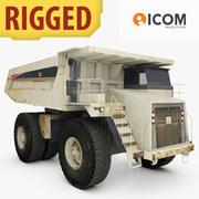 Heavy Hauler Truck Rigged 3d model