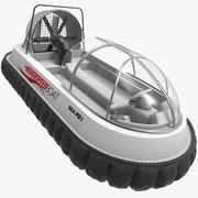 Speed Hovercraft Boat 3d model