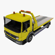 Mercedes Atego Tow Truck 3d model