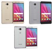 Huawei Honor 5X todas as cores 3d model