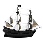 Navire pirate 3d model