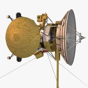Cassini-Huygens rymdskepp 3d model