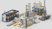 Factory Kitbash 3d model