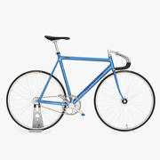 Fixed Gear Track Bicycle Cannondale 3d model