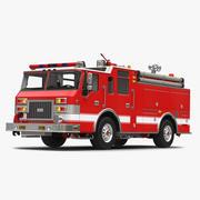 消防車装置3 3d model