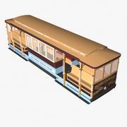 San Francisco Cable Car 3d model