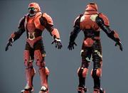 Soldat masculin de science-fiction - Pack de démarrage 3d model