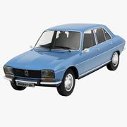 Peugeot 504 3d model