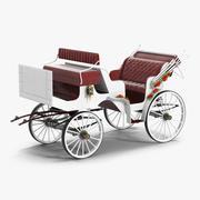 Trasporto di nozze 3d model