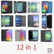 Samsung携帯電話3Dモデルコレクション 3d model
