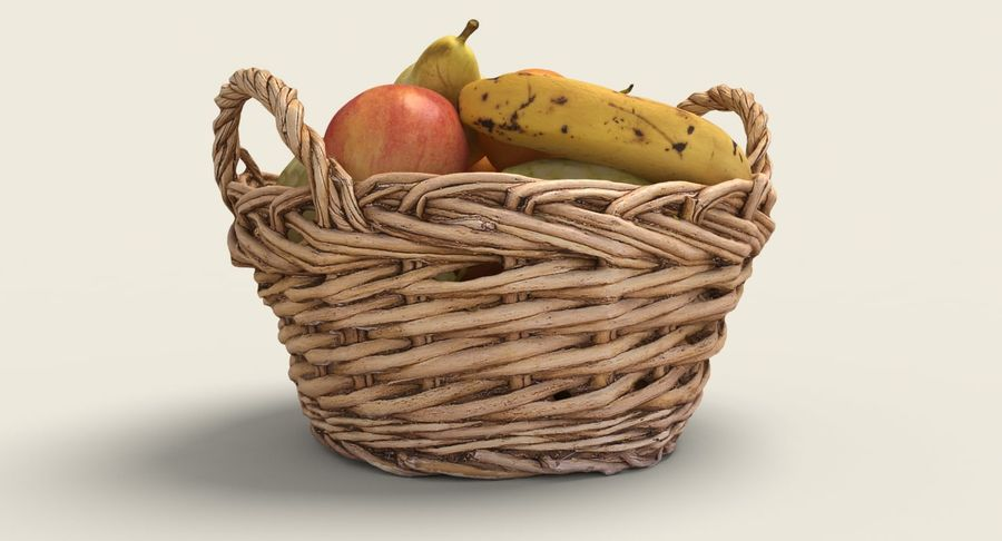 Fruits Collection 01 royalty-free 3d model - Preview no. 7
