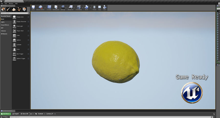 Fruits Collection 01 royalty-free 3d model - Preview no. 74