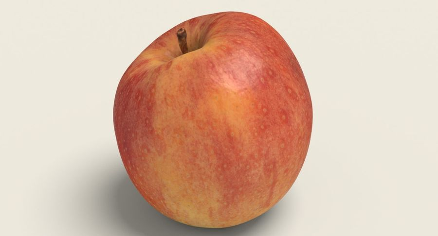 Fruits Collection 01 royalty-free 3d model - Preview no. 10
