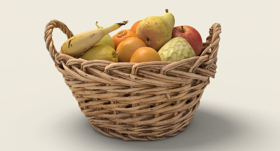 Fruits Collection 01 royalty-free 3d model - Preview no. 6