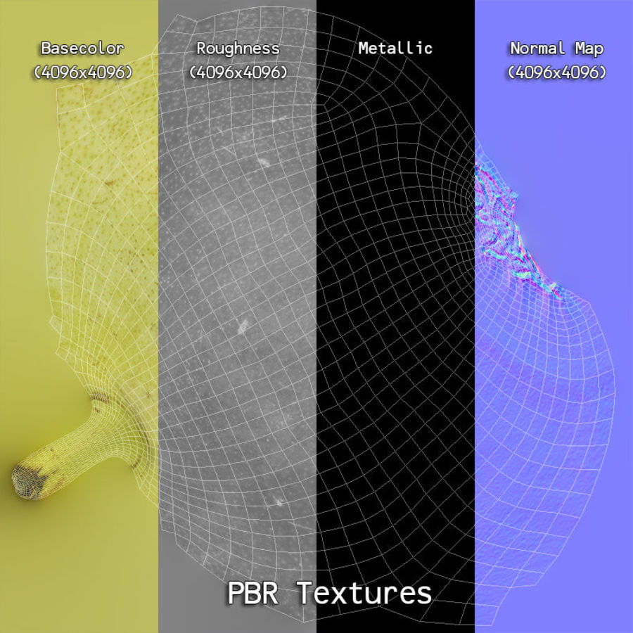 Fruits Collection 01 royalty-free 3d model - Preview no. 133