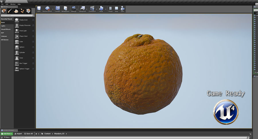 Fruits Collection 01 royalty-free 3d model - Preview no. 102