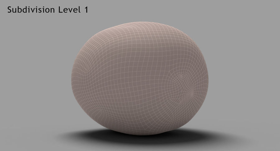 Fruits Collection 01 royalty-free 3d model - Preview no. 59