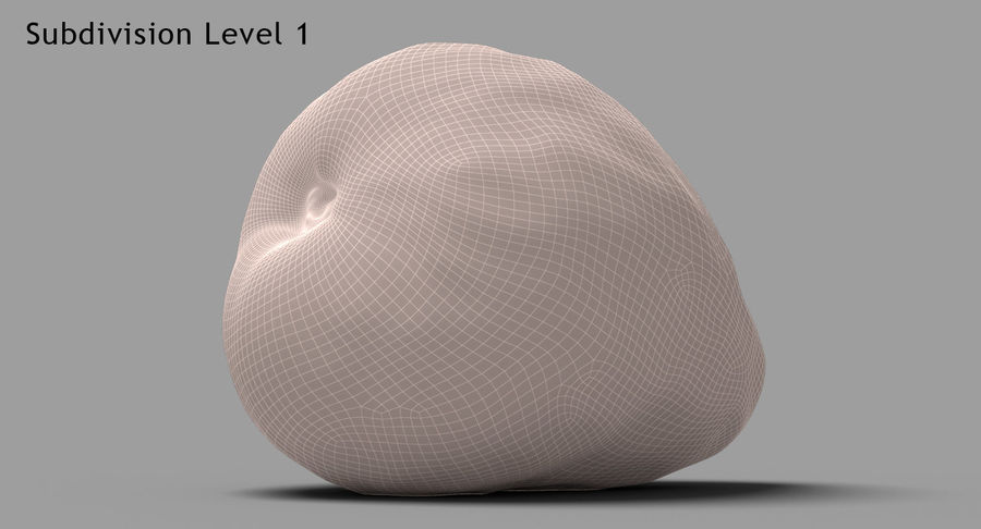 Fruits Collection 01 royalty-free 3d model - Preview no. 143