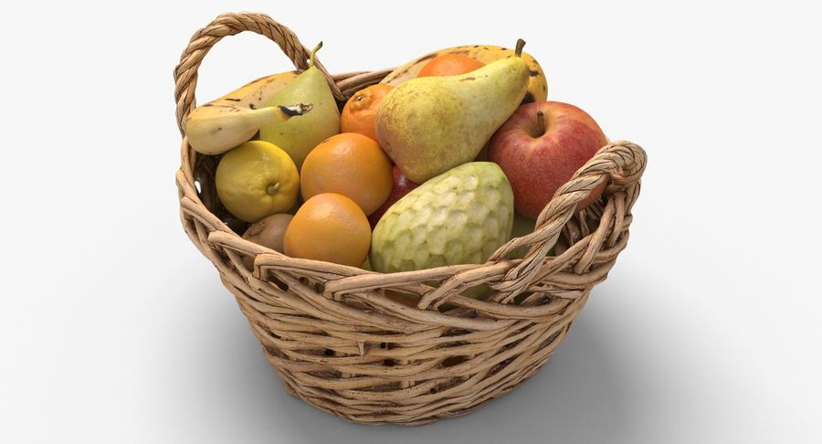 Fruits Collection 01 royalty-free 3d model - Preview no. 2