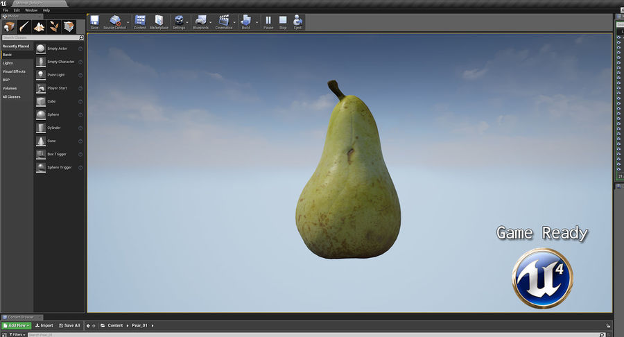 Fruits Collection 01 royalty-free 3d model - Preview no. 116