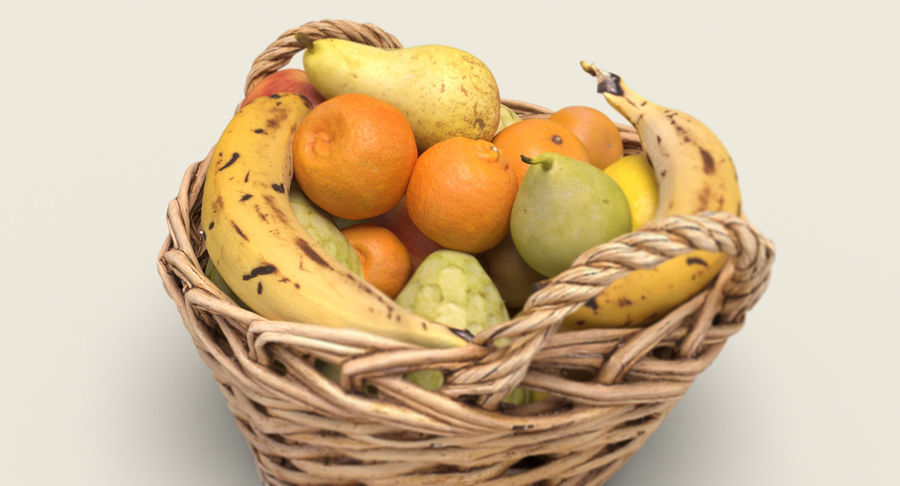 Fruits Collection 01 royalty-free 3d model - Preview no. 8