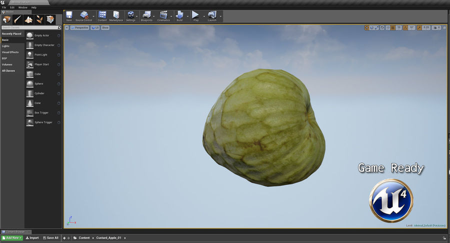 Fruits Collection 01 royalty-free 3d model - Preview no. 144