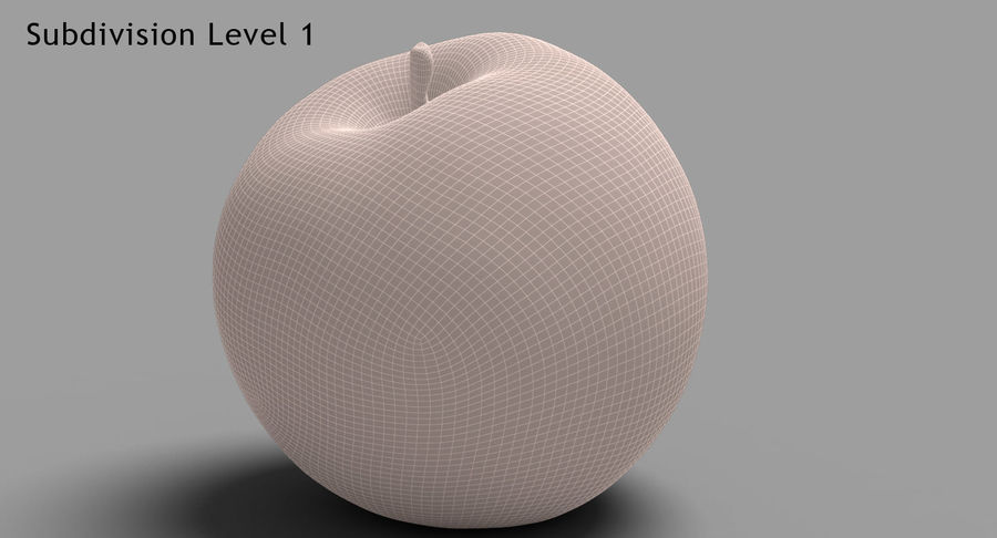 Fruits Collection 01 royalty-free 3d model - Preview no. 16