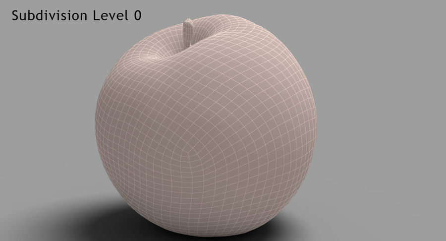 Fruits Collection 01 royalty-free 3d model - Preview no. 15