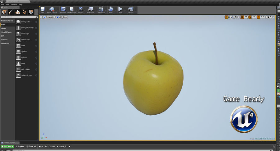Fruits Collection 01 royalty-free 3d model - Preview no. 33