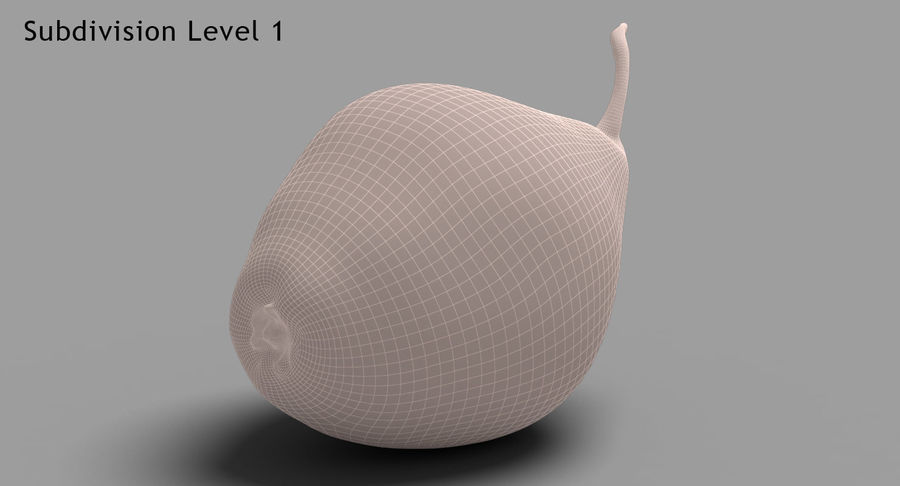 Fruits Collection 01 royalty-free 3d model - Preview no. 127