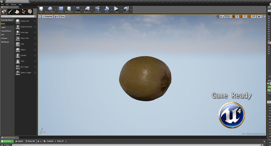 Fruits Collection 01 royalty-free 3d model - Preview no. 60
