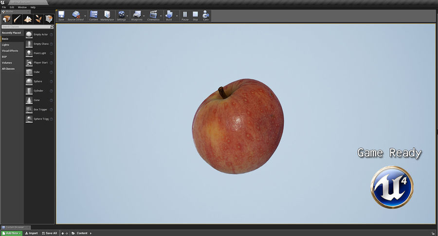 Fruits Collection 01 royalty-free 3d model - Preview no. 19