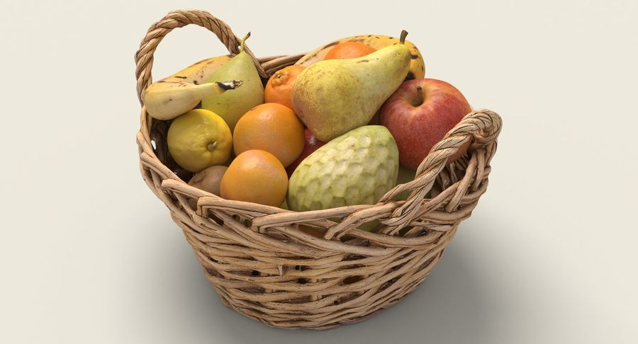 Fruits Collection 01 royalty-free 3d model - Preview no. 3