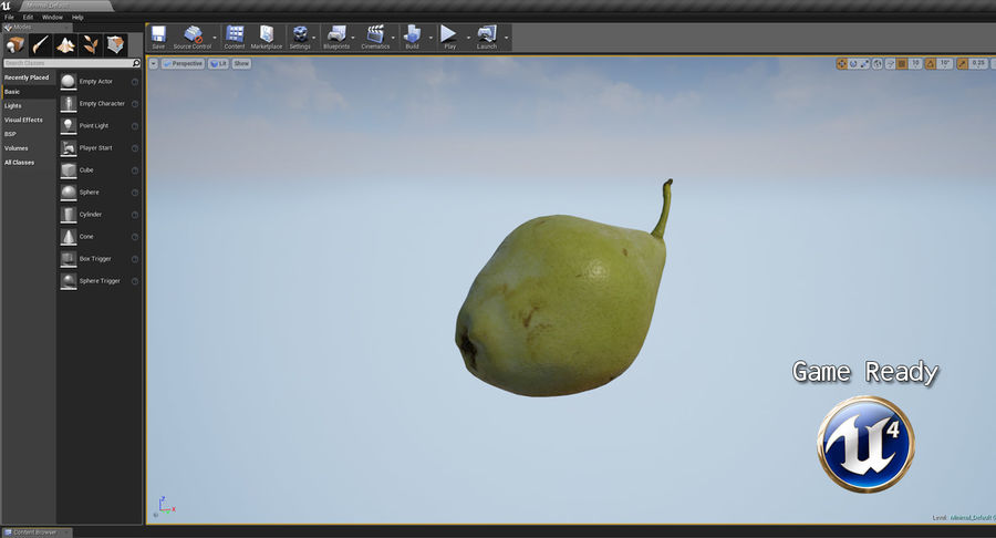 Fruits Collection 01 royalty-free 3d model - Preview no. 130