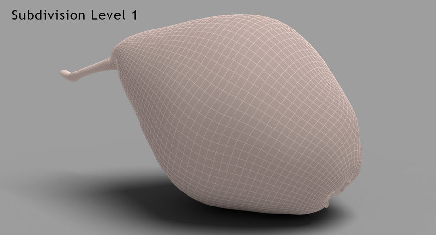 Fruits Collection 01 royalty-free 3d model - Preview no. 129