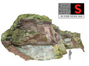 Rock klif muur 16K 3d model