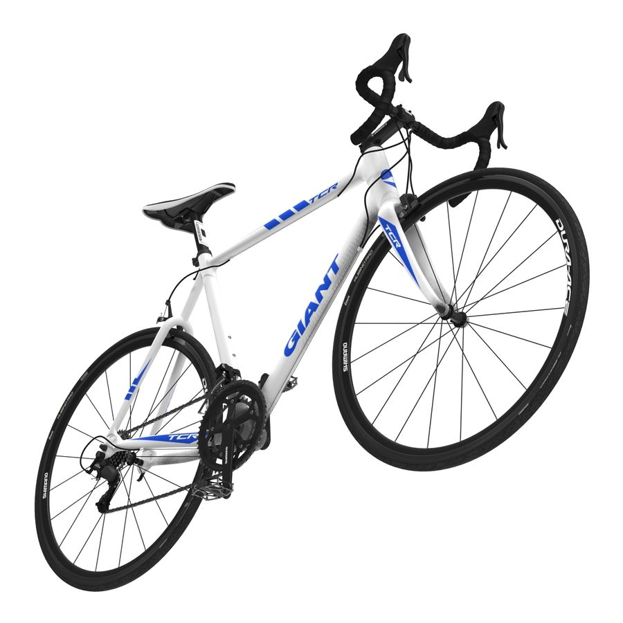 Road Bike Giant royalty-free 3d model - Preview no. 16