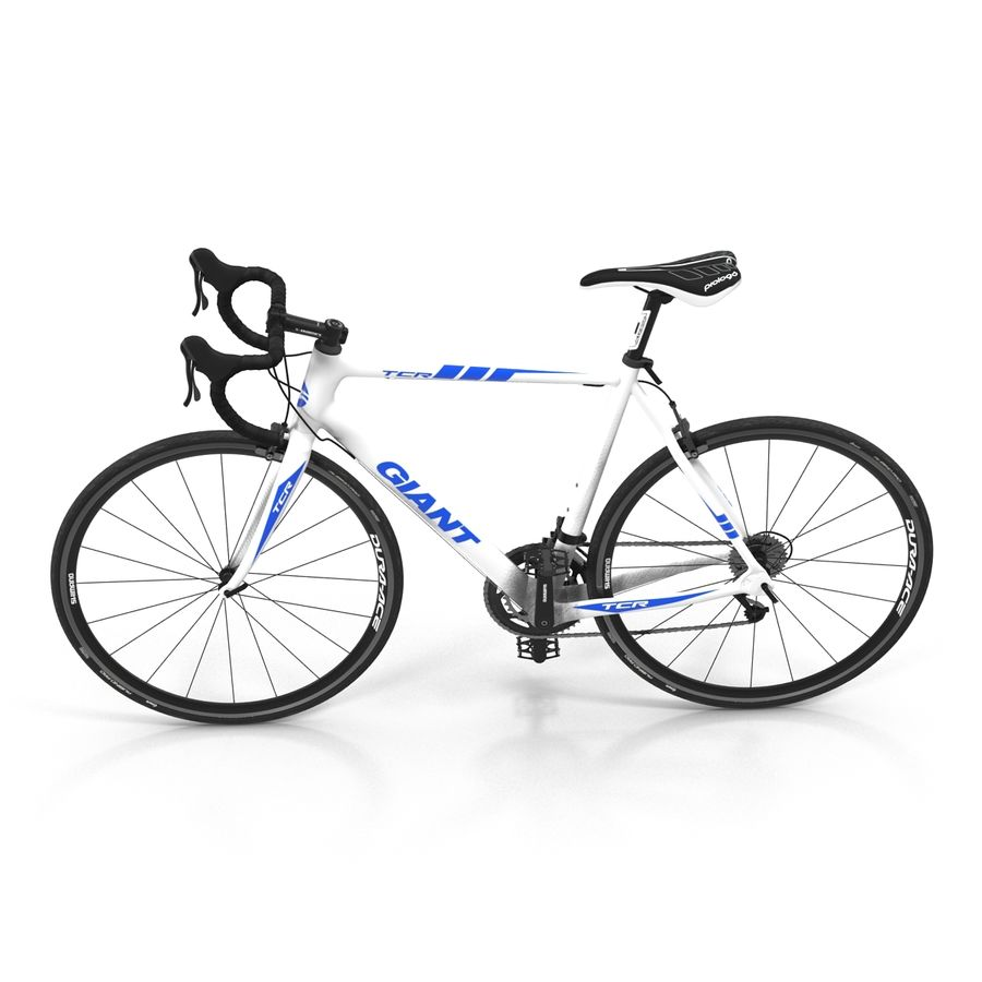 Road Bike Giant royalty-free 3d model - Preview no. 12