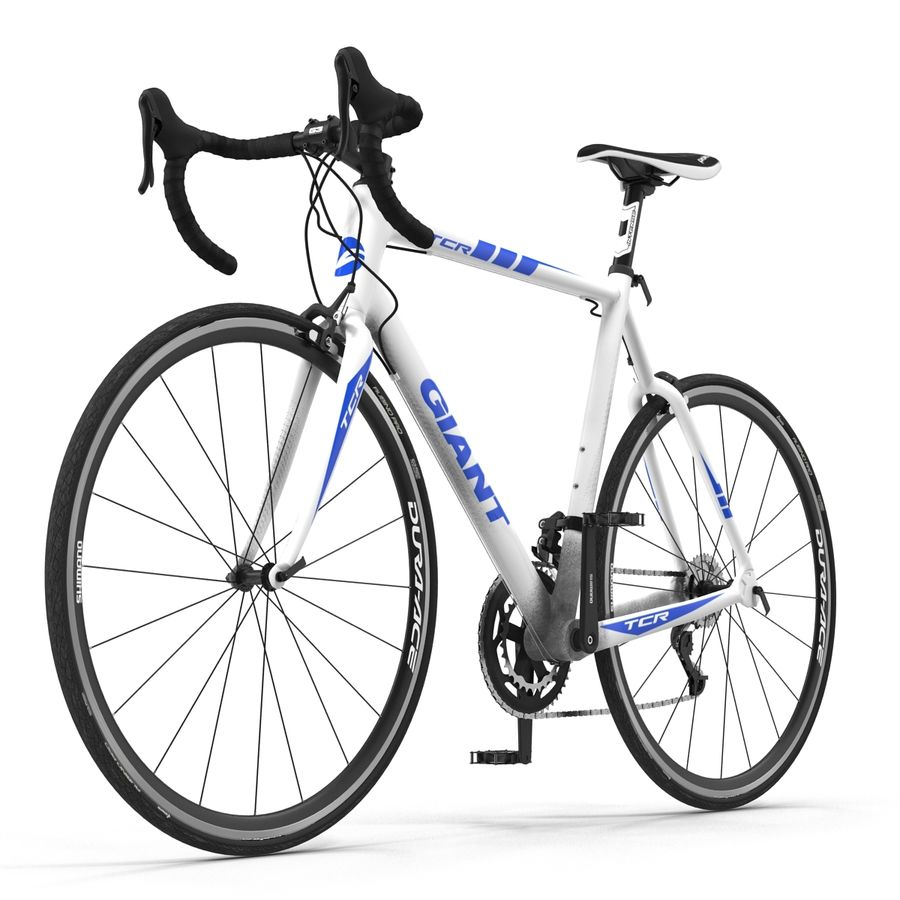 Road Bike Giant royalty-free 3d model - Preview no. 14